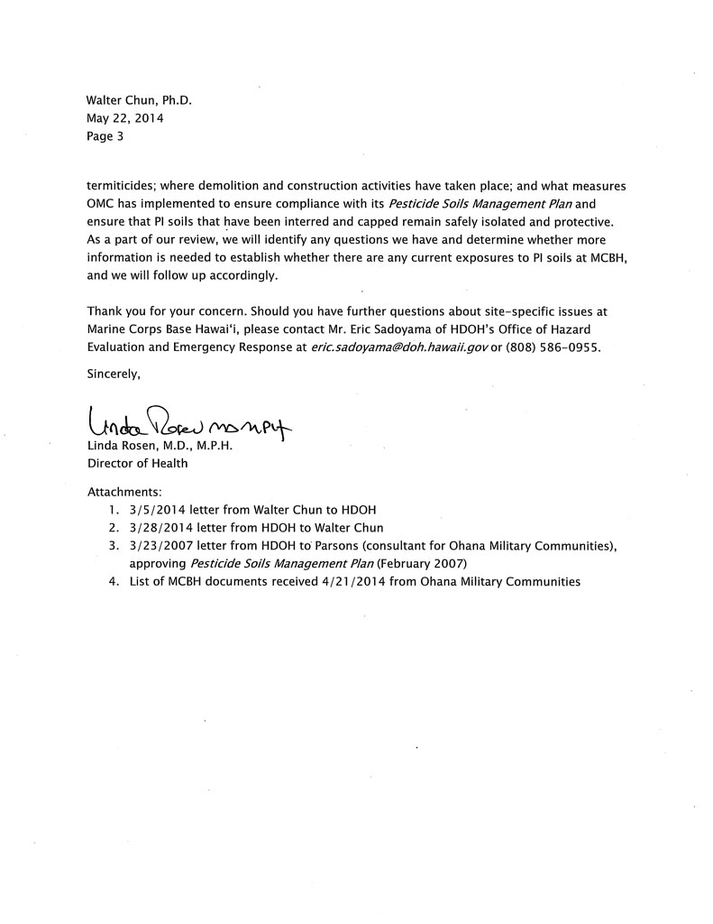 May 2014 Letter - Page 3
